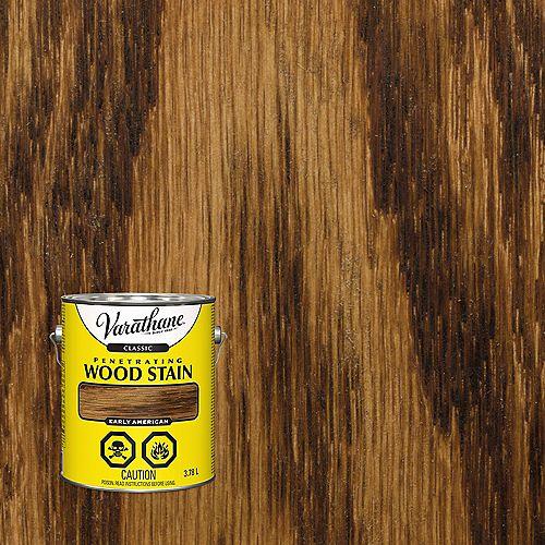 Varathane Teinture à bois classique pénétrante à base d'huile aux États-Unis, 3,78 L