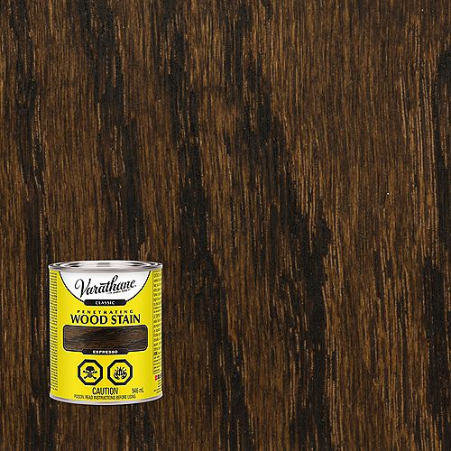 Penetrating Oil-Based Wood Stain in Espresso, 946 mL