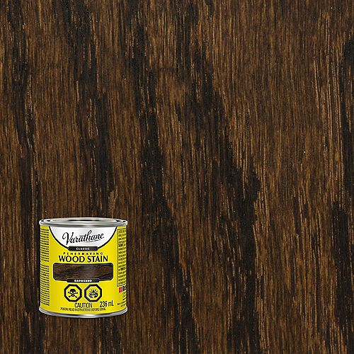 Classic Penetrating Oil-Based Wood Stain In Espresso, 236 mL