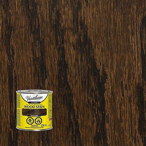 Teinture à bois classique pénétrante à base d'huile dans l'espresso, 236 mL