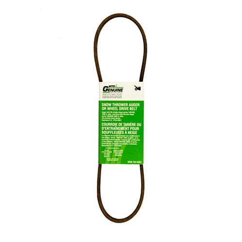Replacement Two-Stage Snowblower Auger and Wheel Drive Belt