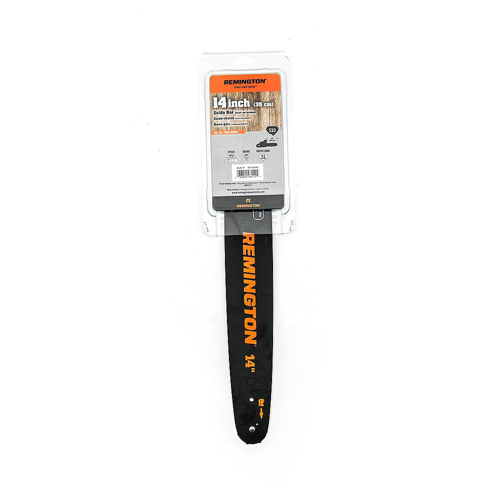 Remington 14-inch Chainsaw Guide Bar with 57 Drive Links