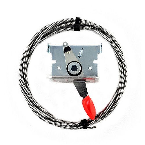 Atlas 54-inch Cable/ Throttle with Choke Cable and Reversible Mounting Bracket
