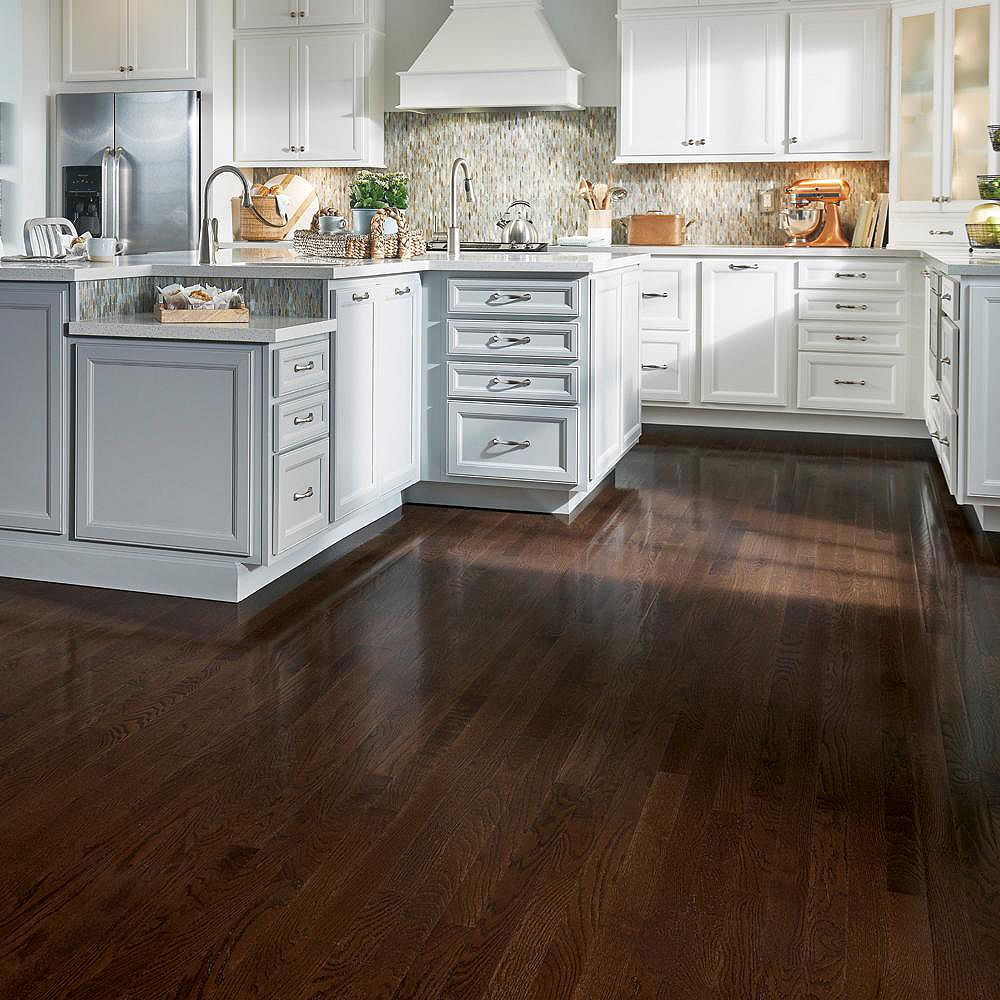 Bruce AO Oak Barista Brown 3/4-inch Thick x 2 1/4-inch W Hardwood Flooring (20 sq. ft. / case)