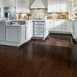 AO Oak Barista Brown 3/4-inch Thick x 2 1/4-inch W Hardwood Flooring (20 sq. ft. / case)