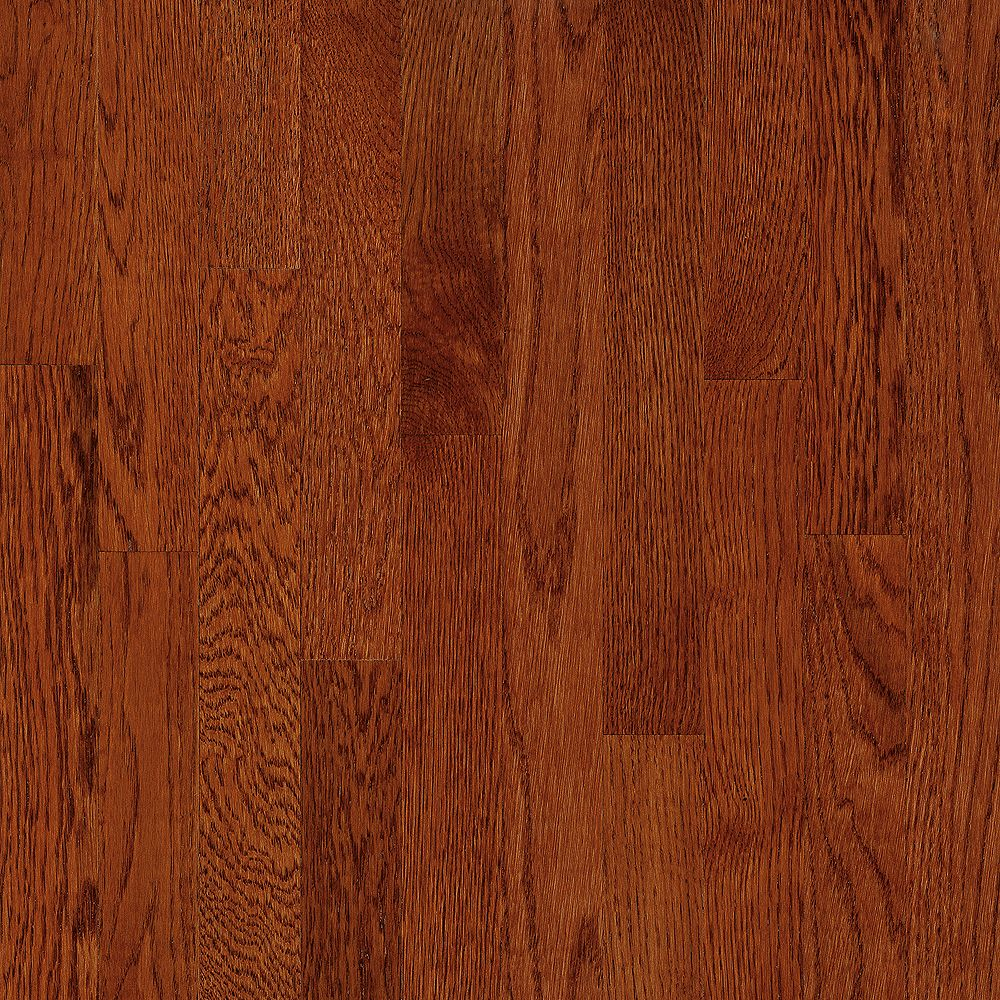 Bruce AO Oak Ginger Snap 3/4-inch Thick x 2 1/4-inch W Hardwood Flooring (20 sq. ft. / case)