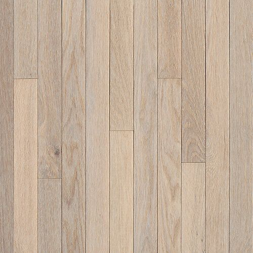 AO Oak Sugar White 3/4-inch Thick x 3 1/4-inch W Hardwood Flooring (22 sq. ft. / case)