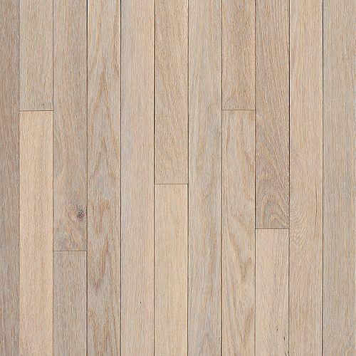 Oak Sugar White 3/4-inch Thick x 5-inch W Hardwood Flooring (23.5 sq. ft. / case)