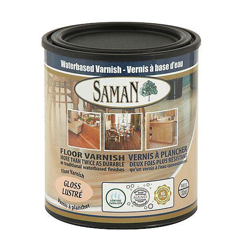 SamaN Vernis à base d'eau Lustré 946ml