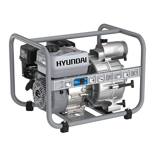 "HWT370 HWT370 Pompe à essence 3"" 7 HP 212cc Trash Pump"