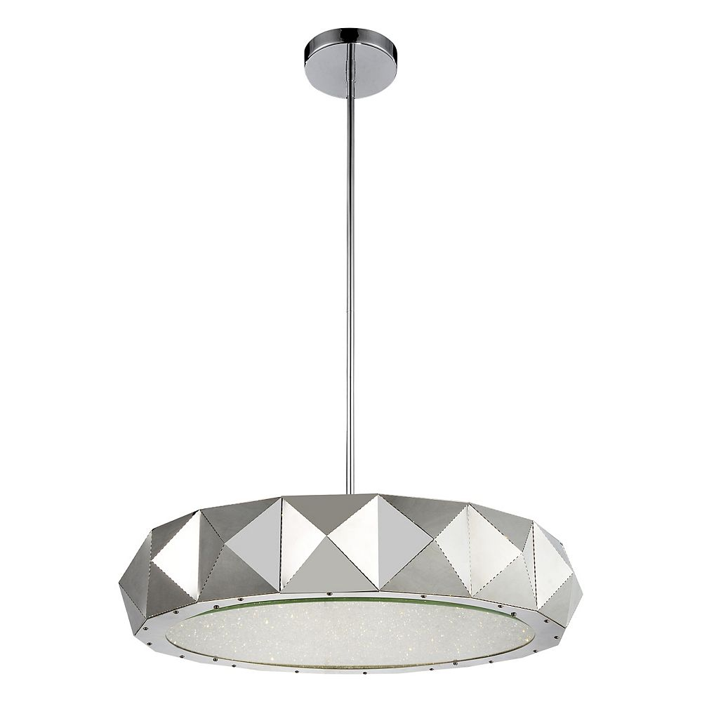 CWI Lighting Rigelle 28 inch 12 Light Chandelier with Chrome Finish
