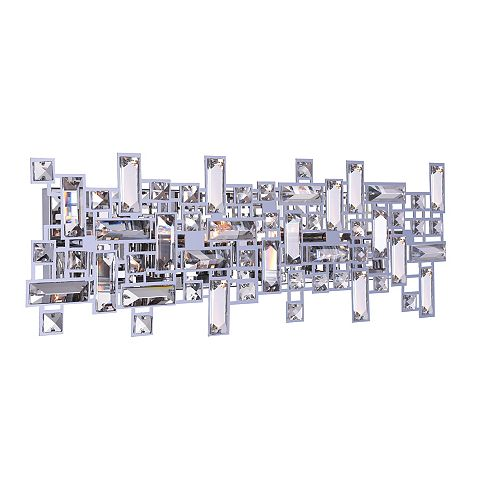 CWI Lighting Arley 24-inch 6-Light Wall Sconce with Chrome Finish