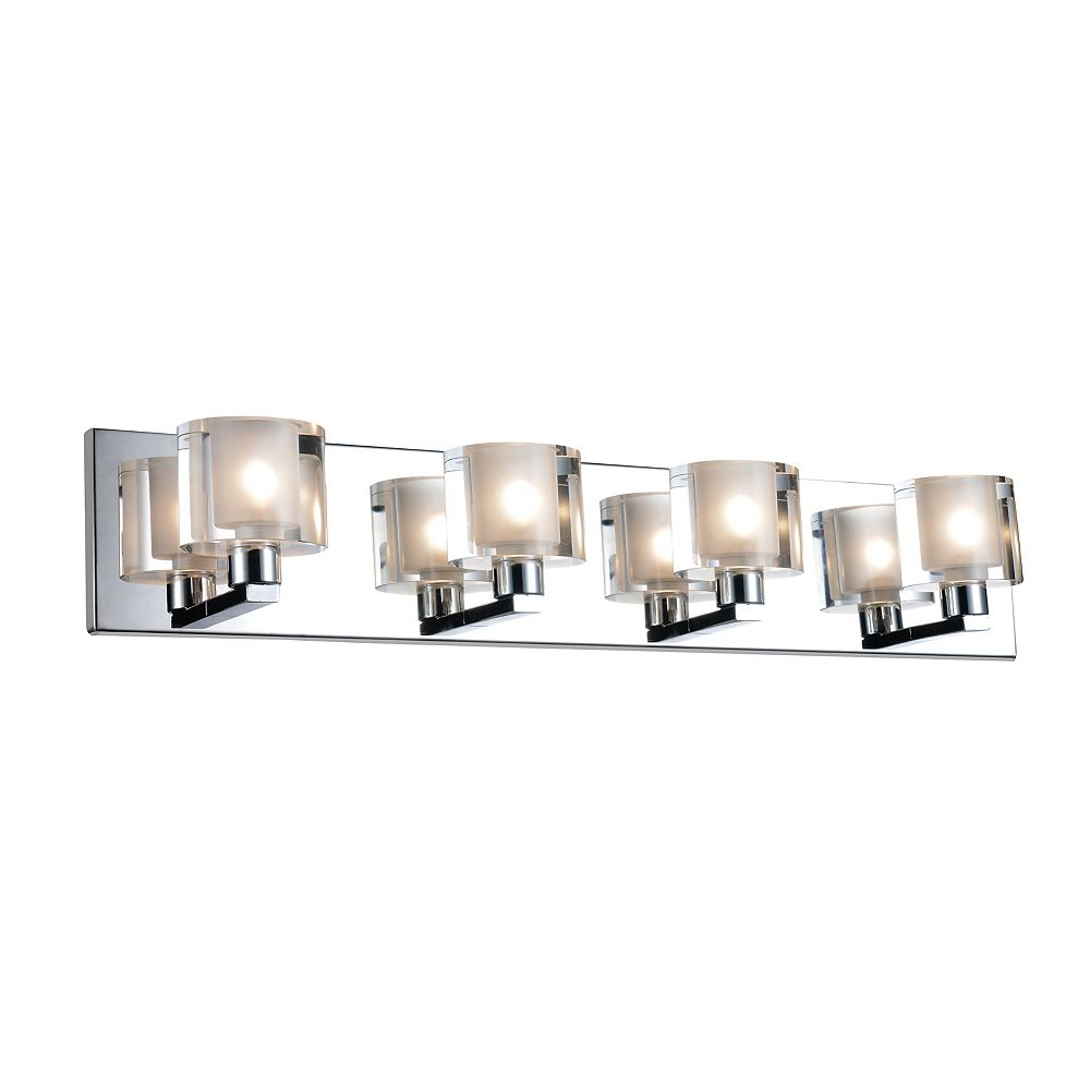 CWI Lighting Tina 25 inch 4 Light Wall Sconce with Satin Nickel Finish
