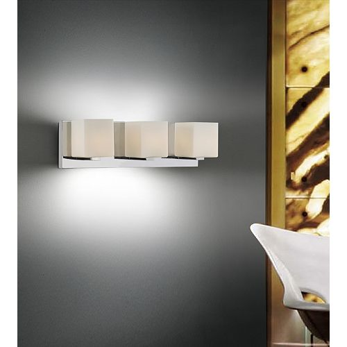 Cristini 20 inch 3 Light Wall Sconce with Satin Nickel Finish