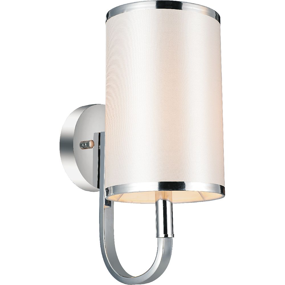 CWI Lighting Orchid 6 inch 1 Light Wall Sconces with Chrome Finish