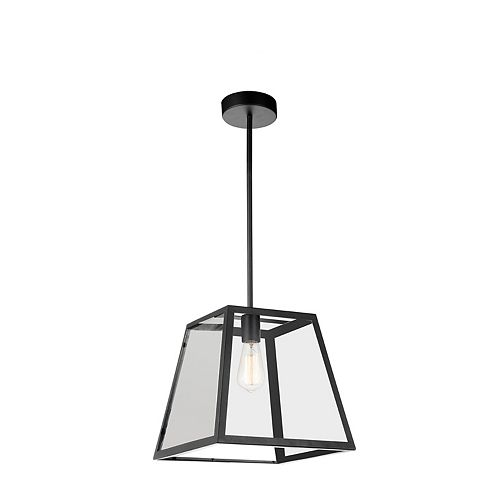 Alyson 12 inch 1 Light Mini Pendant with Black Finish