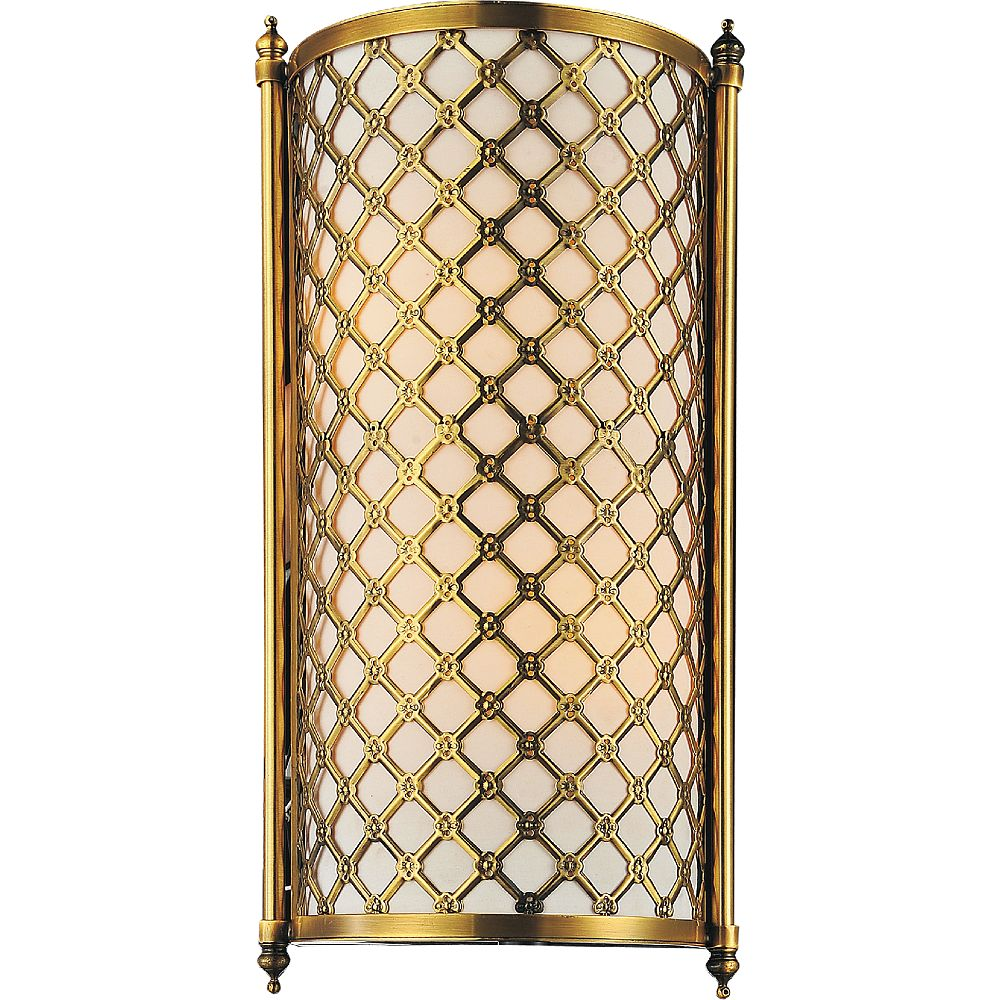 CWI Lighting Gloria 9 inch 2 Light Wall Sconce with French Gold Finish