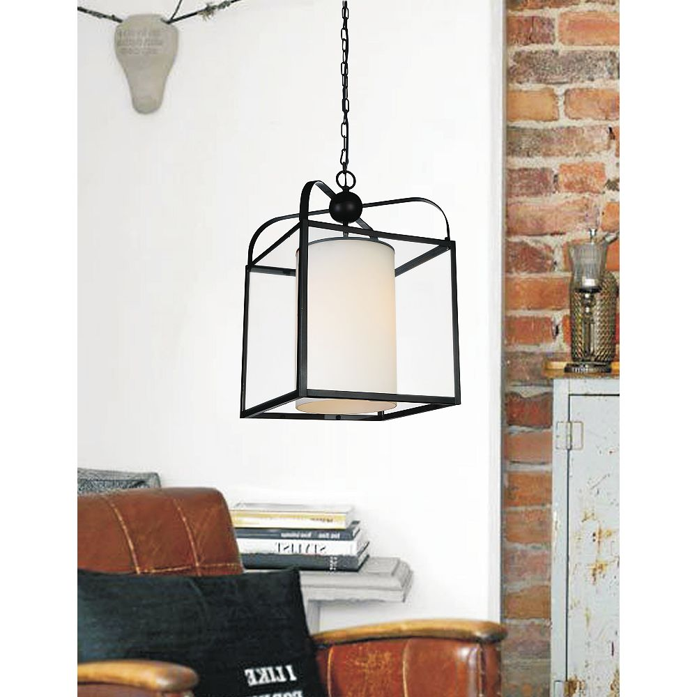 CWI Lighting Danielle 14 inch 1 Light Chandelier with Oil Rubbed Brown Finish