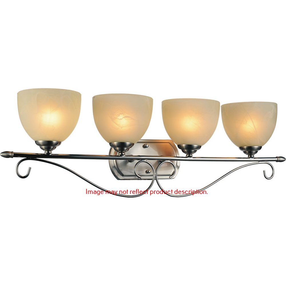 CWI Lighting Selena 31 inch 4 Light Wall Sconce with Chrome Finish