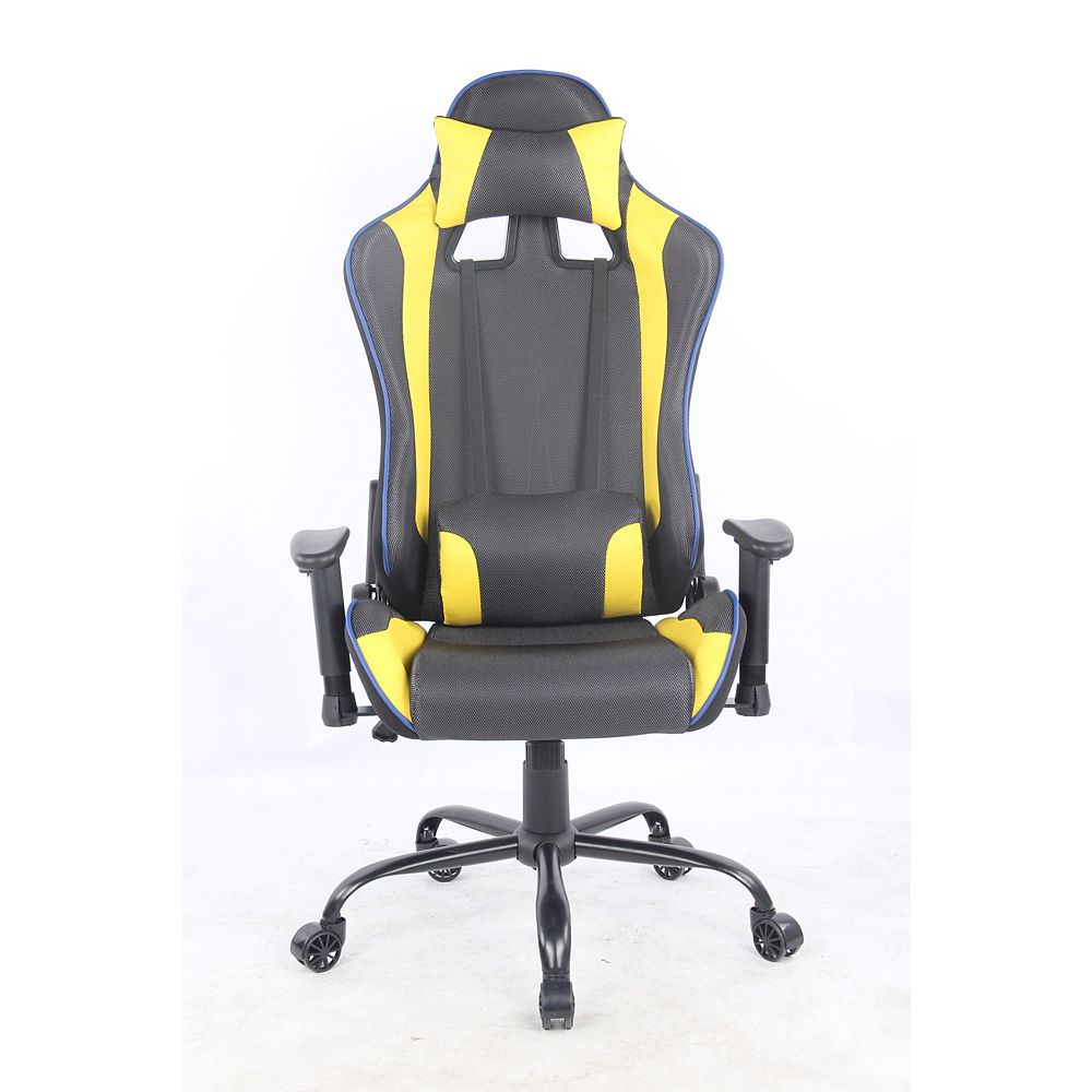 Blitz Gaming Chair Yellow