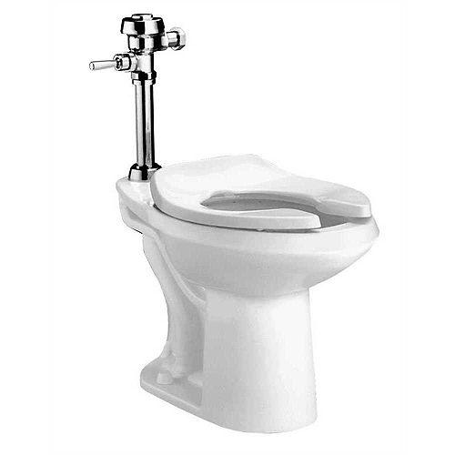 Toilettes à jet siphon Madera Ada Allongé 1,1gpf à 1,6gpf en blanc