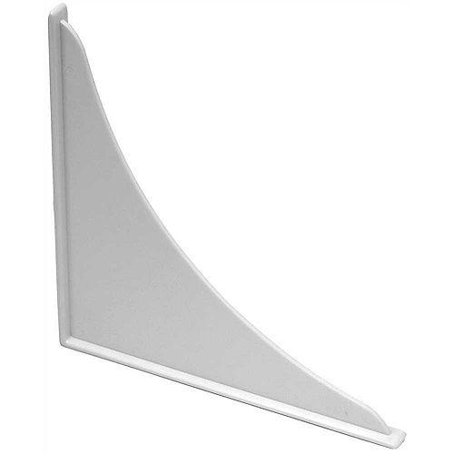 Polystyrene Bathtub Guard, 7 inch X 7 inch, White