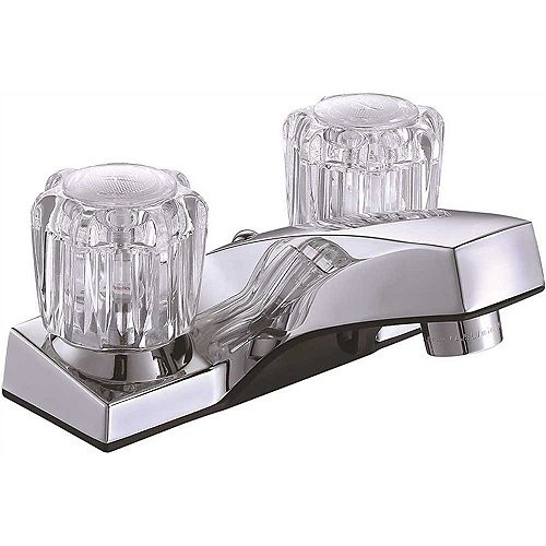 Concord Two-Handle Centerset Lavatory Faucet Without Pop-Up, Chrome