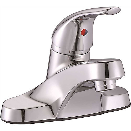 Bayview Single-Handle Centerset Lavatory Faucet Without Pop-Up, Chrome