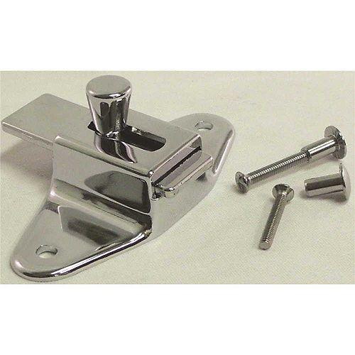 Slide Latch For Laminate Door With Screws, 3-1/2 inch Center
