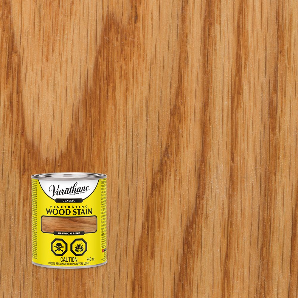 Classic Penetrating Oil-Based Wood Stain In Ipswich Pine, 946 mL