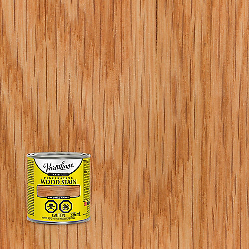 Classic Penetrating Oil-Based Wood Stain In Colonial Maple, 236 mL