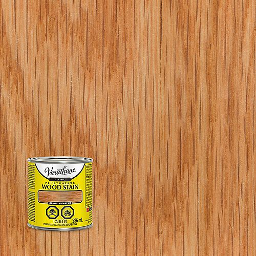 Teinture à bois classique pénétrante à base d'huile à l'érable colonial, 236 mL
