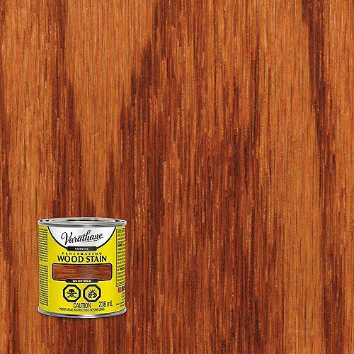 Teinture à bois classique pénétrante à base d'huile dans le pistolet, 236 mL