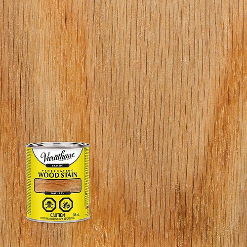 Varathane Teinture à bois classique pénétrante à base d'huile naturelle, 946 mL