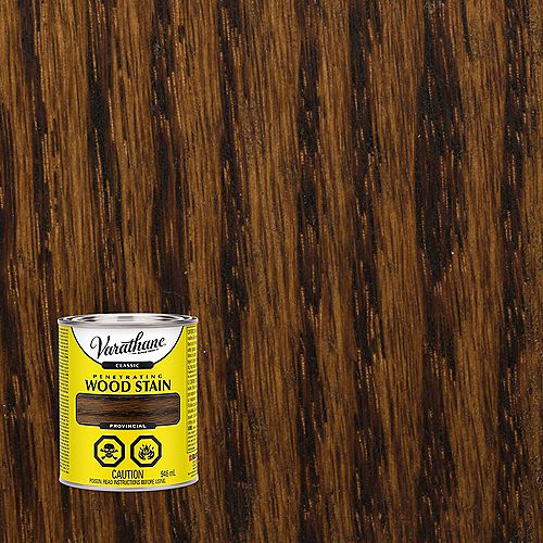 Classic Penetrating Oil-Based Wood Stain In Provincial, 946 mL
