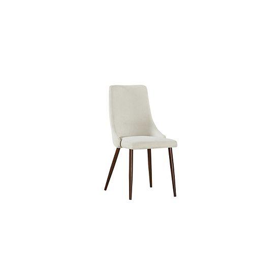 Brooke ensemble de deux chaise, crème