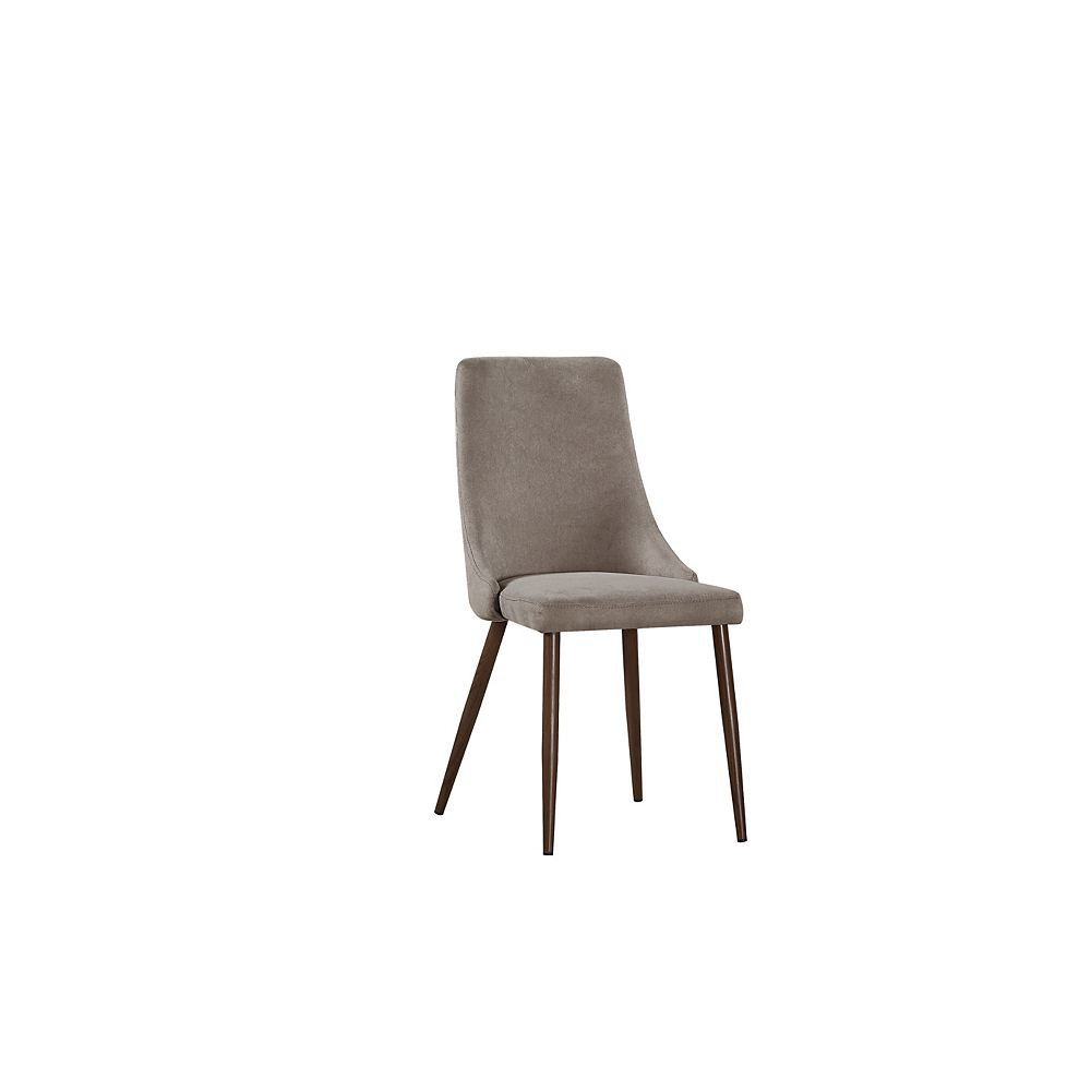 SIT Brooke Side Dining Chair in Brown (Set of 2)