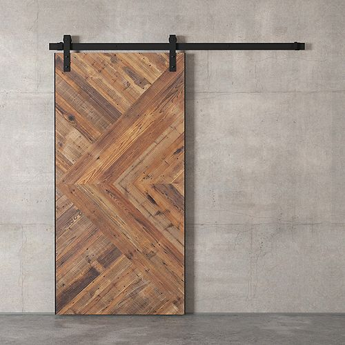 Craftsman Barn Door By