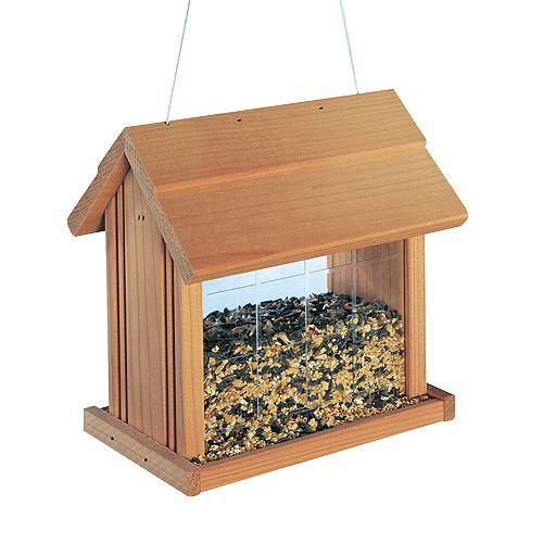 Hanging Birdfeeder - Cedar