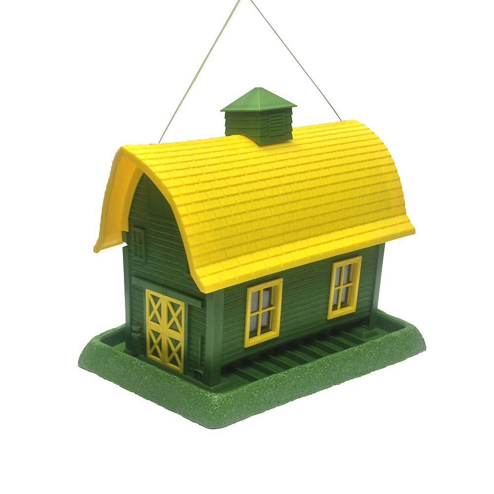North States Large Barn Birdfeeder - Green (Plastic)