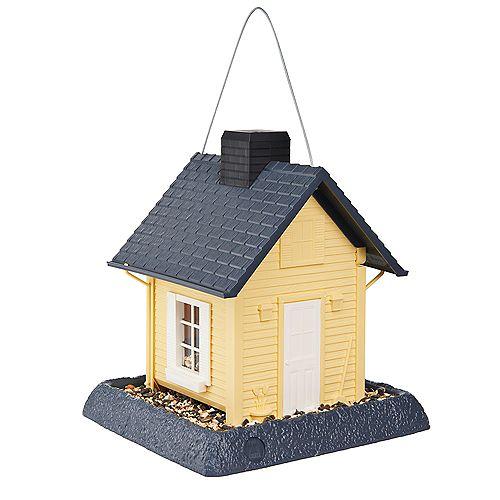 Cottage Birdfeeder - Yellow (Plastic)