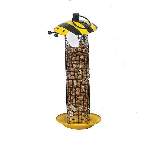 Bumblebee Birdfeeder - Yellow (Metal)
