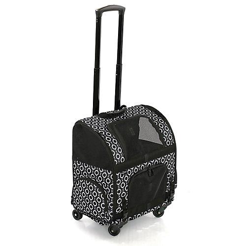 Sac de transport à roulettes pour animal domestique RC1000 Roller-Carrier - Motif à maillons