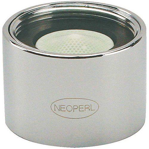 NEOPERL PCA Spray 0.5 GPM 55/64 in. - 27 Regular Female Vandal Proof Faucet Aerator, Chrome