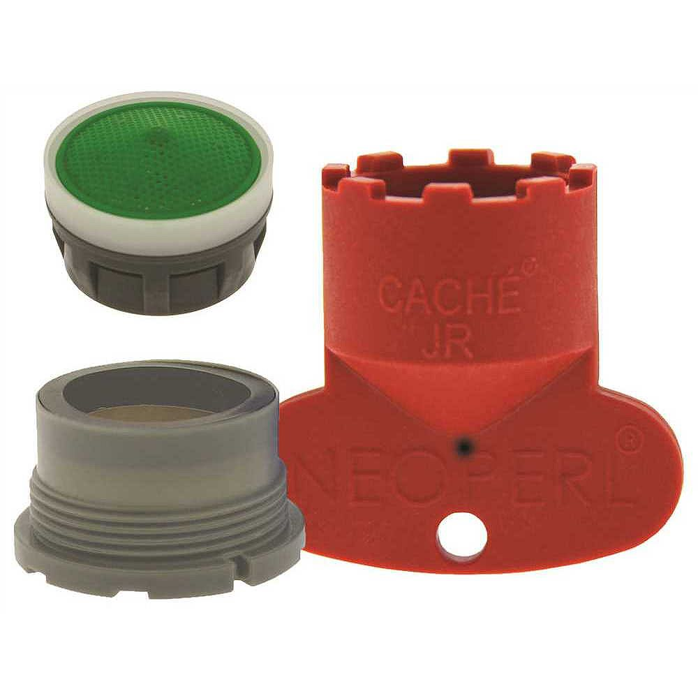 NEOPERL Delta Replacement Cache Aerator Kit 1.5 GPM Water Saving