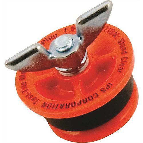 IPS Corporation Twist-Tite Mechanical Test Plug, 3 inch