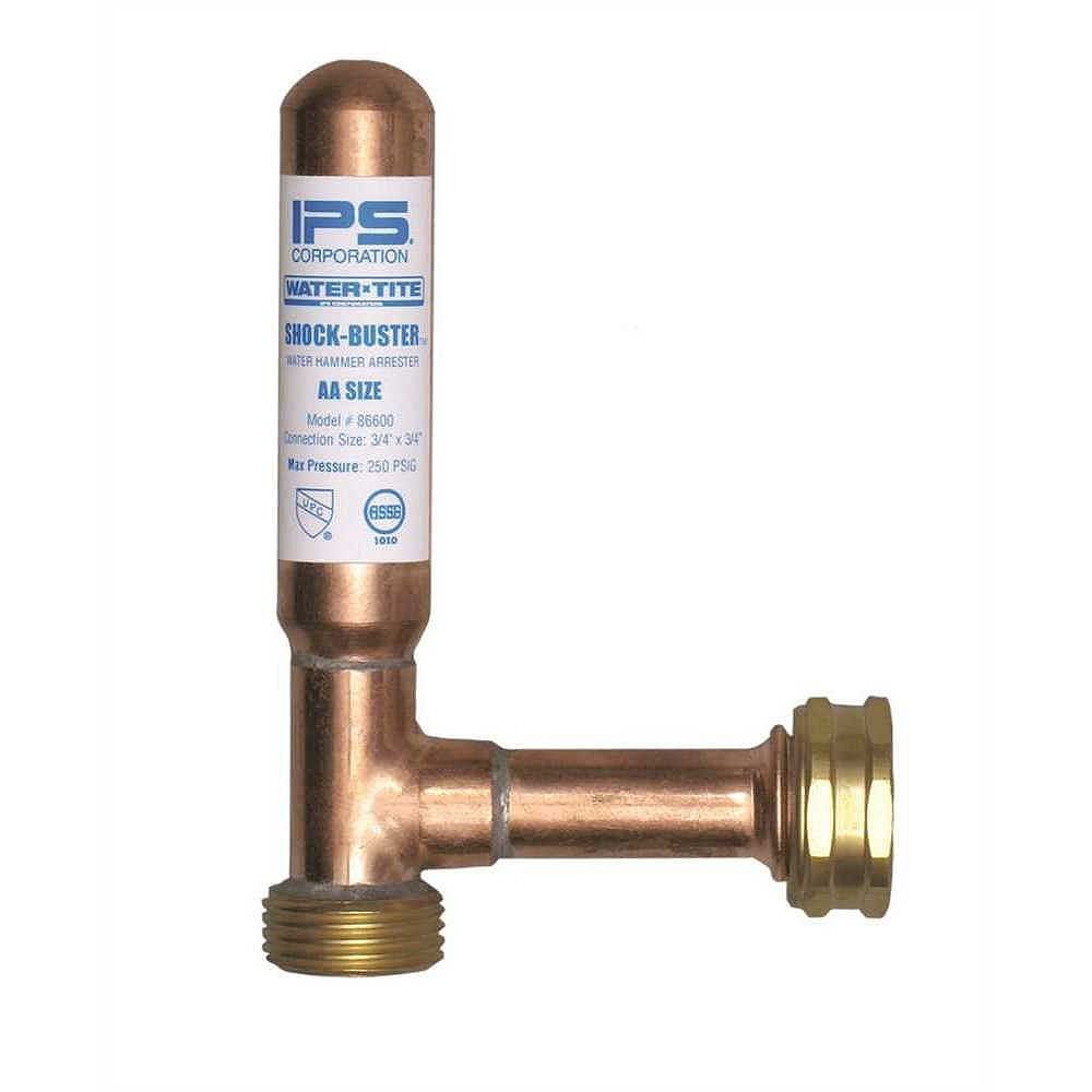 IPS Corporation Shock Buster Water Hammer Arrestor 3/4 inch For Washing Machine