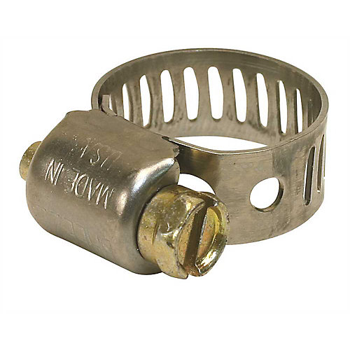 Breeze Hose Clamp, 410 Stainless Steel, 13/16 In. To 1-1/2 In., (10-Pack)