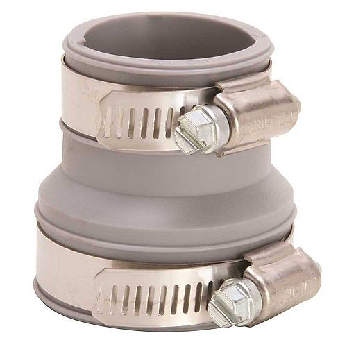 Rubber Trap Connector, 1-1/2 inch. Or 1-1/4 inch