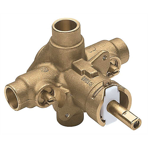 Posi Temp Tub And Shower Valve, Sweat